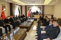 Başkan Zeydan Ve Muhtarlardan Vali Toprak'a Ziyaret