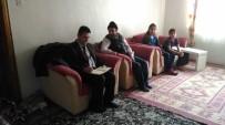 Bayburt İŞKUR Müdürü Kahveci, Ev Ziyaretlerinde