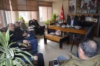 Bayırköy SS Motorlu Taşıyıcılar Kooperatifi'nden Başkan Yaman'a Ziyaret