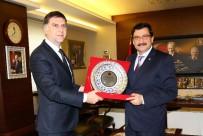 KEÇİÖREN BELEDİYESİ - Bosna Hersek Büyükelçisi Dzanko'dan Veda Ziyareti