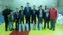Burhaniyeli Güreşçiler 7 Madalya İle Döndü