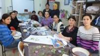 Burhaniyeli Kadınlar İplerle Resim Yapmayı Öğrendi
