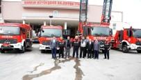 İTFAİYECİLER - Büyükşehir İtfaiyesi Artık Daha Güçlü