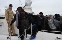 KAÇAK GÖÇMEN - Çanakkale'de 46 Mülteci Yakalandı