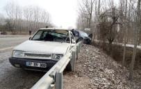 Cenaze Dönüşünce Kaza Geçiren Sürücü, Hayatını Kaybetti