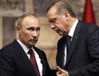 VLADIMIR PUTIN - Cumhurbaşkanı Erdoğan Putin'le Suriye'yi görüştü