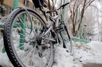 BUZ SARKITLARI - Erzurum'da Kar, Sis Ve Kırağı Renkli Görüntüler Oluşturdu