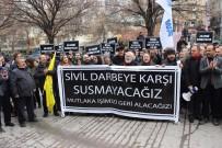 PORSUK - Eskişehir'de İhraç Edilen Akademisyenler Eylem Yaptı