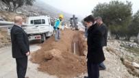 SU KESİNTİSİ - Hıdırağa'ya Yeni İçme Suyu Hattı Döşeniyor