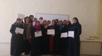 Karaman'da Cenaze Yıkama Kursunu Bitirenlere Sertifikaları Verildi