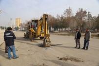 ERTUĞRUL ÇALIŞKAN - Karaman'da Larende Alt Geçit Projesinde İlk Kazma Vuruldu