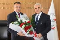 DEVİR TESLİM - Karaman'ın Yeni İl Milli Eğitim Müdürü Mevlüt Kuntoğlu Göreve Başladı