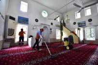 CEMEVI - Muratpaşa Belediyesi Camilerin Temizliğini Sürdürüyor