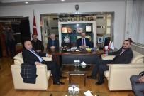 FAHRI ÇAKıR - MÜSİAD Yeni Yönetiminden DTSO'ya Ziyaret