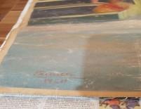 RESSAM - Picasso'nun Eseri Olduğu İddia Edilen Tablo Ele Geçirildi