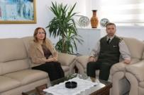 Rektör Kılıç İl Jandarma Alay Komutanı Cavlak'ı Ziyaret Etti