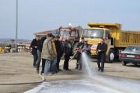 İTFAİYE MÜDÜRÜ - Söğüt Belediyesi Personeline Yangın Ve Kurtarma Eğitimi