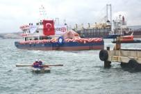 Tarama Gemisi Kanuni Denizle Buluştu