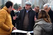 CENTRAL PARK - Taşdelen Yeni Projeleri Yerinde İnceledi