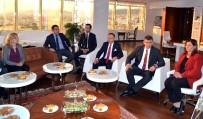 AYDıN ÖZCAN - TBB Başkanı Feyzioğlu'ndan Başkan Çerçioğlu'na Ziyaret
