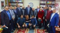 TÜRKIYE YAZARLAR BIRLIĞI - AK Parti İl Başkanı Öz, TYB Erzurum Şubesini Ziyaret Etti