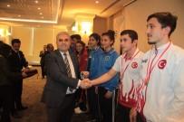 BURSA VALİLİĞİ - Başarılı Sporcular UEDAŞ Tarafından Ödüllendirildi