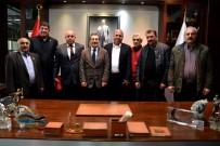 LIBERAL DEMOKRAT PARTI - Başkan Ataç STK'larla Buluşmayı Sürdürüyor