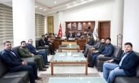 PORSELEN TABAK - Başkan Çakır Genç ASKON Yönetimini Kabul Etti