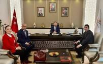 ÖZCAN ULUPINAR - Başkan Güneş,Ankara Ziyaretlerine Devam Ediyor