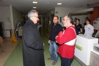 ESKIHISAR - Başkan Köşker'den, Muhtar Özcan'a Geçmiş Olsun Ziyareti