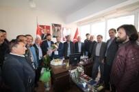 İŞİN ASLI - Başkan Yavaş'tan MHP'ye 'Evet' Ziyareti