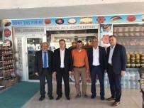 MURAT KAYA - Başkanlar Bayırköy'de İncelemelerde Bulundu