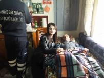EV TEMİZLİĞİ - Burhaniye'de Gönüllü Torunlar İş Başında