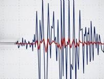 DEPREM ANI - 16 dakikada 8 deprem meydana geldi!