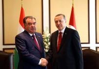 EKONOMİK İŞBİRLİĞİ TEŞKİLATI - Cumhurbaşkanı Erdoğan, Rahman İle Görüştü