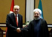 AZERBAYCAN CUMHURBAŞKANI - Cumhurbaşkanı Erdoğan Ruhani İle Görüştü