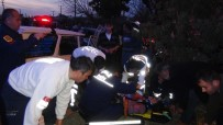 HASAN TAHSIN - Fethiye'de Trafik Kazası; 1'İ Ağır 5 Yaralı