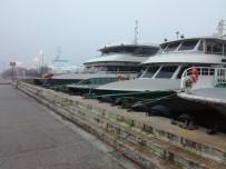 DENIZ OTOBÜSÜ - İstanbul'da Deniz Ulaşımına Sis Engeli