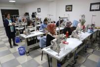 MESLEK EDİNDİRME KURSU - Kadınlar Meslek Kurslarıyla İş Sahibi Olacak