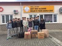 KARDEŞ OKUL - Köyceğizli Öğrencilerden Kardeş Okula Eğitim Yardımı
