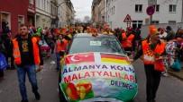KÖLN - Malatyalılar Karnavalda 1 Ton Kayısı Dağıttı