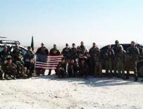 ZIRHLI ARAÇLAR - Menbic'de ABD bayrağı açtılar!