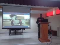 MAHMUT ŞAHIN - Okul Servis Şoförlerine Trafik Eğitimi Verildi