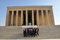 ANıTKABIR - Sivil Savunma Uzmanlarından Anıtkabir'e Ziyaret