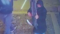 ASKERLİK ŞUBESİ - Televizyon Hırsızlığı Güvenlik Kamerasında