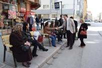 SEMT PAZARI - AK Parti Tepebaşı İlçe Başkanlığı Üyeleri Ertuğrulgazi'de