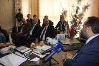 AHMET UZER - AK Partili Heyetten GBC'ye Ziyaret