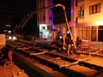 KıŞLA - Akçaray Tramvay Projesinde Çalışmalar Devam Ediyor