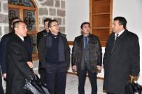 CAMİ İNŞAATI - Başkan Tiryaki Şantiyeleri Denetledi