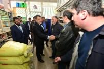 ESNAF ODASı BAŞKANı - Belediye Başkanı Gürkan, Battalgazi Esnaf Odasını Ziyaret Etti